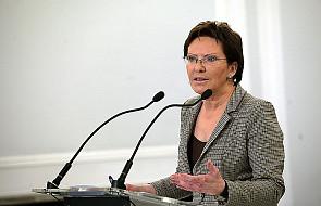 Ewa Kopacz: trzymam kciuki za Arłukowicza