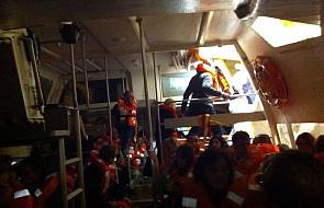 Włochy: uratowano 4200 osób ze statku