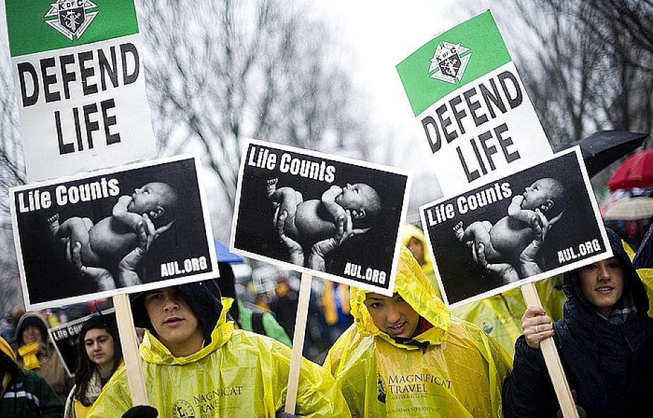 Waszyngton: przeciwnicy aborcji demonstrują