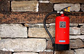 Wiesz, jak ugasić pożar w mieszkaniu?