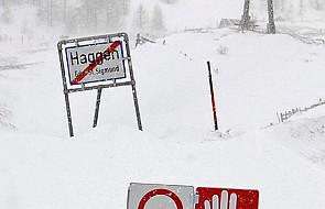Austria: silne opady śniegu, zamknięte drogi