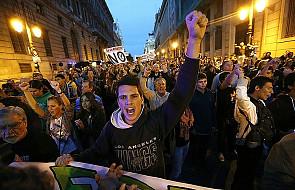 Marsz w Madrycie przeciwko oszczędnościom