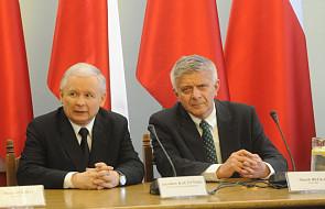 Kaczyński pozytywnie o spotkaniu z Belką