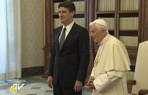 Benedykt XVI przyjął premiera Chorwacji