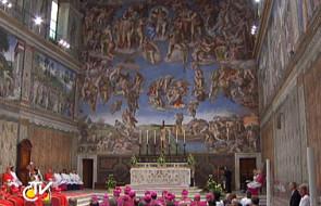 Freski Michała Anioła jako wielka przypowieść