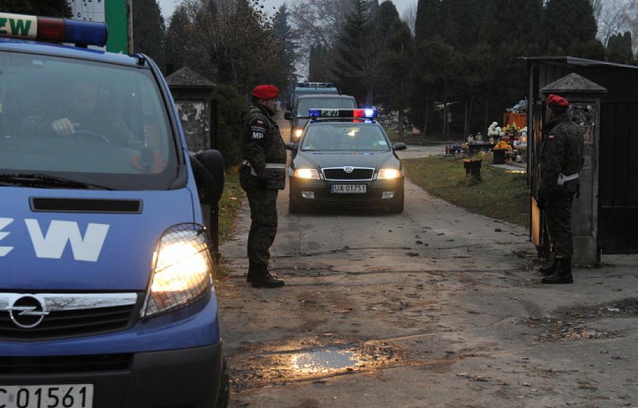 Ciała ofiar katastrofy przewieziono do Krakowa