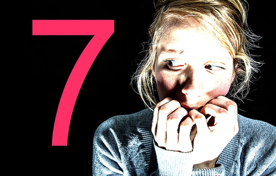 7 poważnych skutków lęku