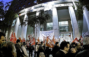 Hiszpania: Strajk generalny i starcia z policją