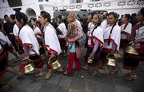 Hindusi z pompą przywitali nowy rok