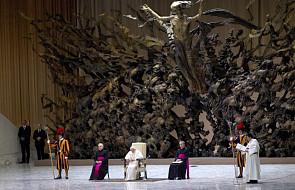 Papież o działalności charytatywnej Kościoła