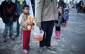 Już ponad pół miliona uchodźców z Syrii
