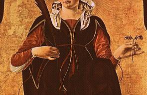 Minuta ze świętym - św. Łucja z Syrakuz