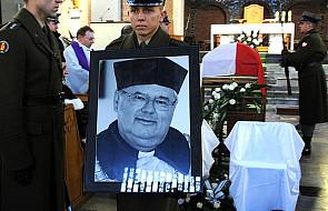 Ponowny pogrzeb ks. prof. Rumianka