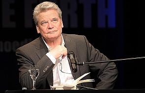 Niemcom gratulujemy Gaucka