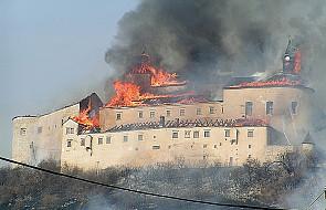 Pożar poważnie zniszczył zabytkowy zamek