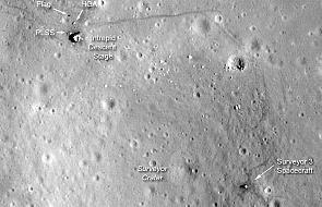Nowe zdjęcia miejsca lądowania Apollo 12