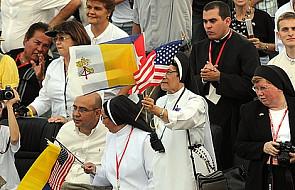 Papież zaskoczony serdecznym przyjęciem