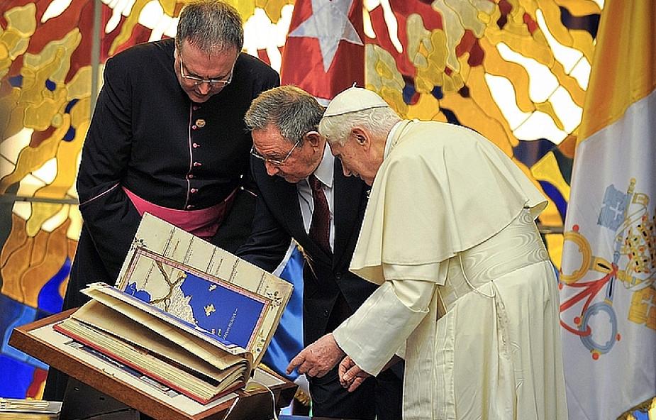 Benedykt XVI spotkał się z Raúlem Castro
