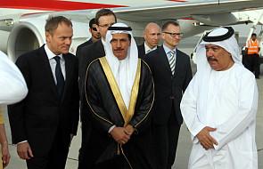 Tusk rozpoczął wizytę w krajach arabskich