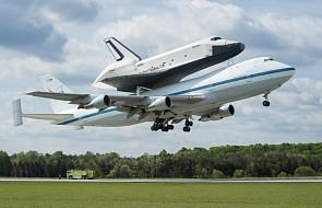 Wahadłowiec Enterprise dotarł do Nowego Jorku