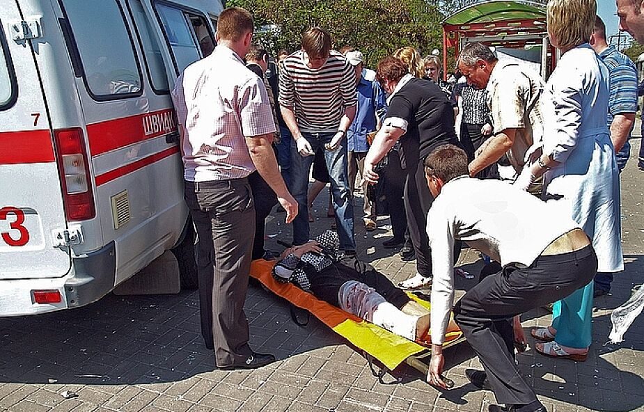 30 rannych po zamachach w Dniepropietrowsku