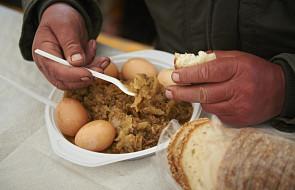 Olsztyn: Śniadanie Wielkanocne dla ubogich