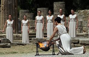 Olimpiada: wzniecono olimpijski ogień
