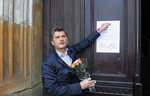 Kraków: Janusz Palikot ogłosił akt apostazji