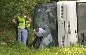 Wypadek polskiego autokaru w Czechach, ranni