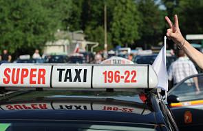 Gowin jest zaskoczony protestem taksówkarzy