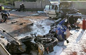 Śledztwo ws. wypadku motocyklistów