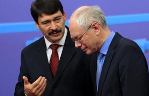 Raport Rompuya: Możliwa zmiana traktatu