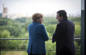 Merkel za europejską kontrolą nad bankami