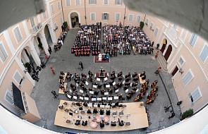 Ks. Lombardi o koncercie w Castel Gandolfo