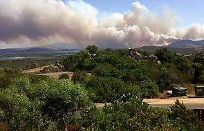 Groźne pożary na wschodzie Sardynii