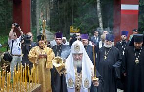 Patriarcha Cyryl poświęcił cerkiew w Katyniu