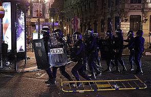 Policja użyła gumowych kul w Madrycie