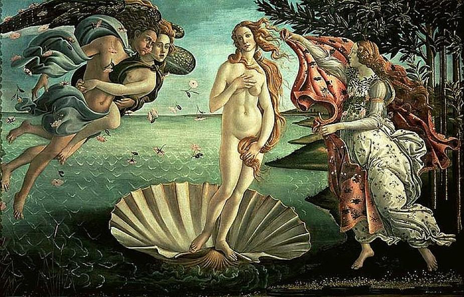 Wenus Botticelliego na ścianie kamienicy