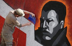 Graffiti dla uczczenia artystów-powstańców