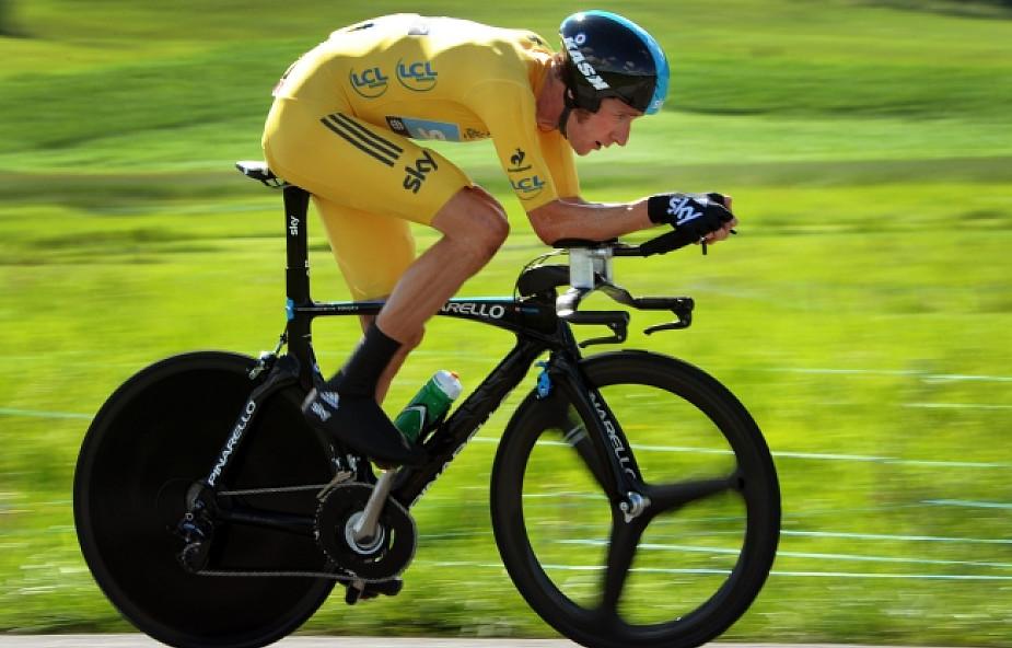 """Tour de France - najlepsza """"czasówka"""" Wigginsa"""