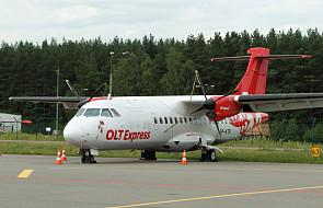 """W Gdańsku """"aresztowali"""" samolot OLT Express"""