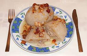 Miód, ser koryciński, kartacze i pierekaczewnik