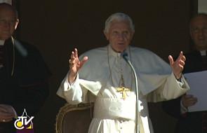 Benedykt XVI: św. Jan Chrzciciel wzorem