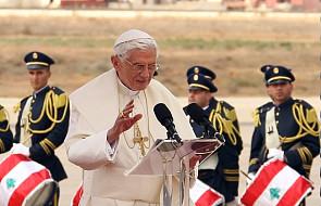 """""""L'OR"""" o """"podróży pokoju"""" papieża do Libanu"""