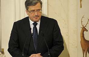 Wizyta Prezydenta Komorowskiego na Ukrainie