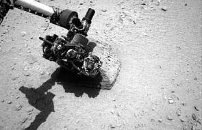 Curiosity zbadał pierwszy kamień