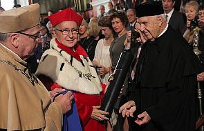 Wacław Szybalski doktorem honoris causa UJ