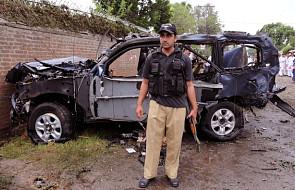 Pakistan: zamach koło konsulatu USA