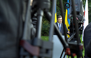 Ukraina: Janukowycz mówi o wolności słowa