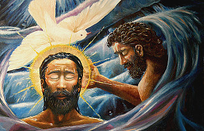 Chrzest Jezusa w trzech obrazach